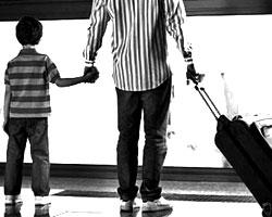 I bambini viaggiano piu' dei loro genitori