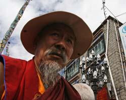 Pellegrino a Lhasa