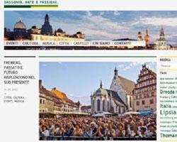 La Sassonia apre un blog in lingua italiana