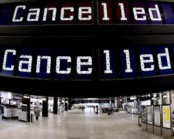 I diritti dei viaggiatori per i voli cancellati