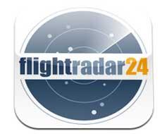 Flightradar24 applicazione per Iphone e Android