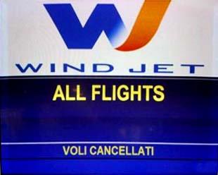 Riprotezione voli clienti Wind Jet