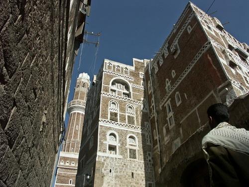 Le case di tradizionali di Sana'a