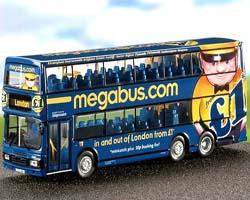 Megabus sulla strade degli Usa