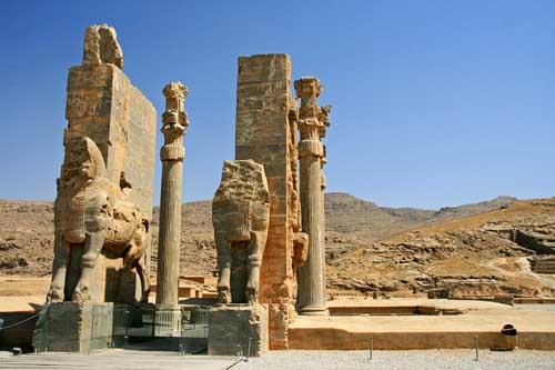 Persepoli Porta delle Nazioni