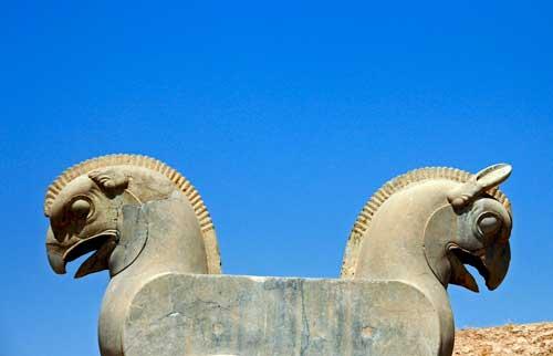 Grifone achemenide a Persepoli