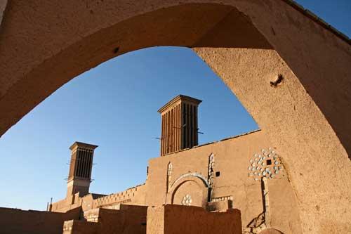 Yazd - Le torri del vento
