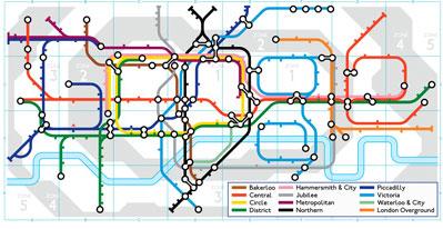 Doodle Google per la metropolitana di Londra