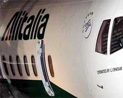 Atr 72 Alitalia operato da Carpatair