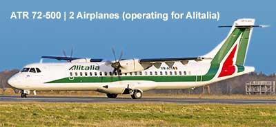 Aereo Atr 72 Carpatair per voli Alitalia