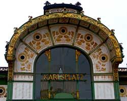 Karlsplatz a Vienna