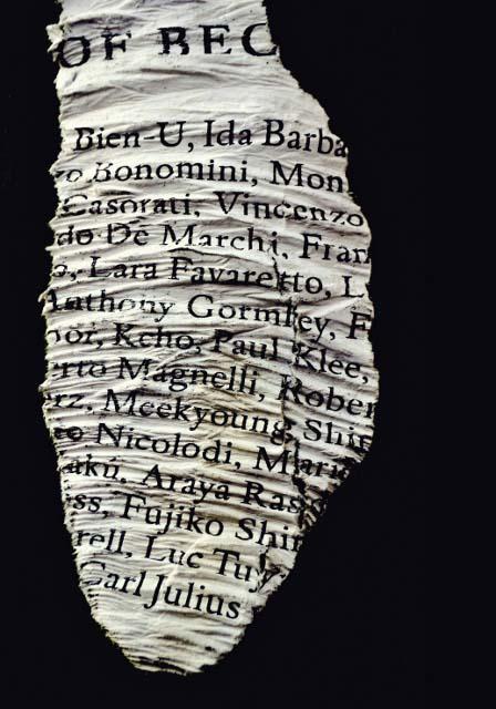 mostraWords 6 Antologia 2012 - credits Luisa Menazzi Moretti