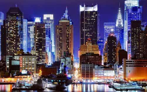 New-York-at-Night-USA