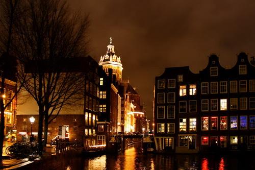 Finestre ad Amsterdam