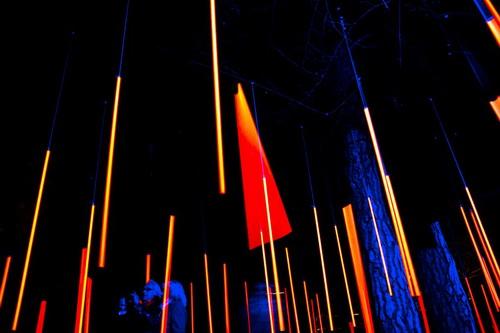 8 Floating lights
