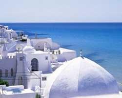 Tunisia vista dal Hammamethome