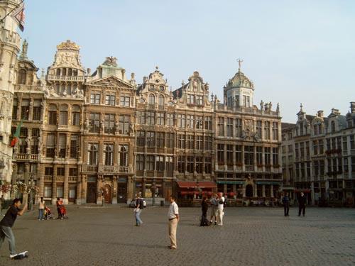 Bruxellescioccolato la Grand Place foto8