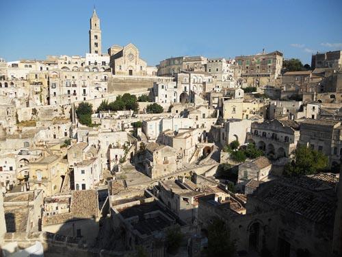 italiaSassi di Matera UNESCO