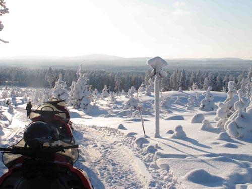 Lapponia svedese inverno Skelleftea