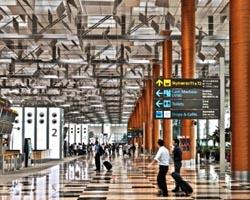 aeroporti Changi Airport Singapore
