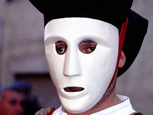 carnevale sardegna maschera
