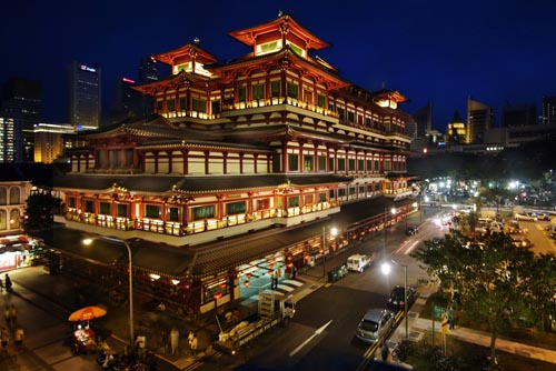 singapore Grand Buddha Tooth Relic Temple