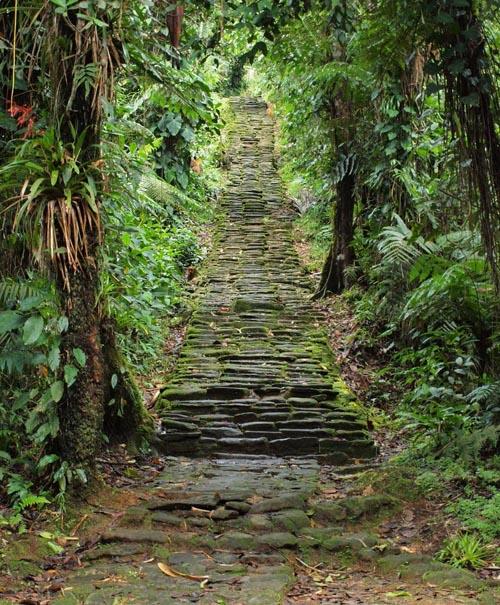 colombia scalinata