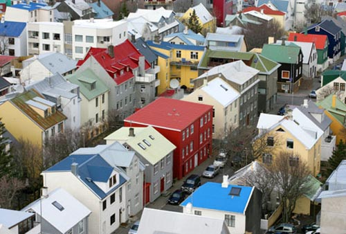 islanda citta reykjavik gr