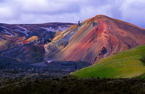 islanda montagna