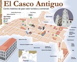 panama mappa casco antiguo