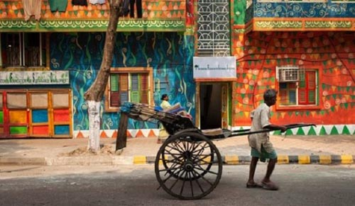 trasporto Rickshaws