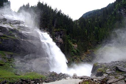 malga salisburgo cascate