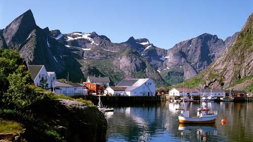 nordland villaggio pescatori