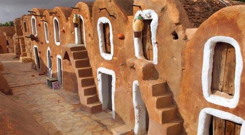 tunisia villaggio berbero