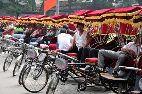 riscio pechino rickshaw