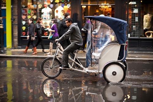 riscio rickshaw-London