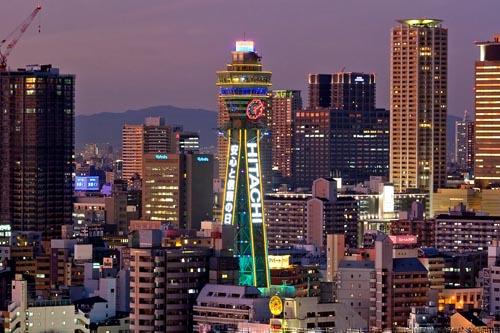 torre 2tsutenkaku sunset lucias