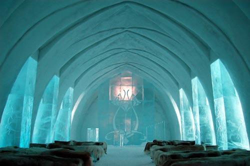 lapponia Ice Hotel Church Jukkasjärvi