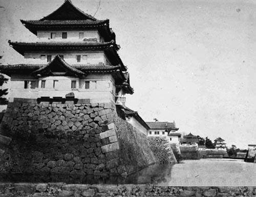 Edo Castle in the 1860s