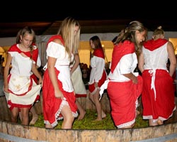 croatia events buje festival of grapes on the court of bacchus 0001