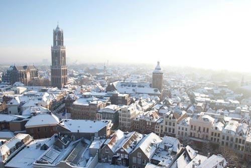 paesi bassi Utrecht overview Winter
