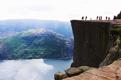 norvegia Preikestolen-Norvegia