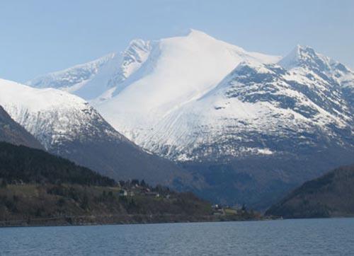 norvegia ghiacciaio alfotbreen