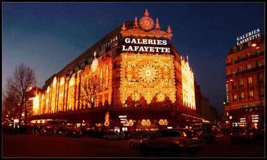 Parigi Galleria Lafayette